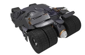 Batmobile -the Tumbler- Cam view 2 by JDVN7
