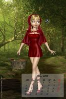 May 2013 - Little Red Riding Hood by LadyNightVamp