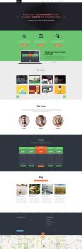 DevTeam - One Page PSD by DarkStaLkeRR