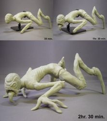 Creepy Creature WIP by red3183