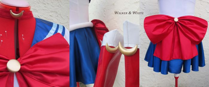 Sailor Moon Details - Walker and White Cosplay by MsPoecilonym