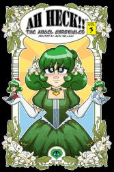 Ah Heck!! The Angel Chronicles Web Vol 3 cover by MaryBellamy