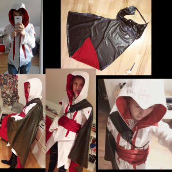 Ezio Cosplay X3 by Fleckenfrost