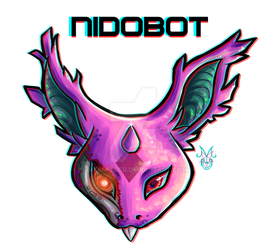 Gift: Official VGM - NidoBot by Rabenfeder
