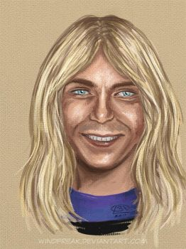 iPad sketch: Dave Murray by Windfreak