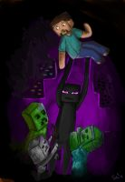 In the mine by DymasyaSilver