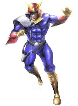captain falcon by Tiberan