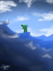 The Sea Monster by Scheq