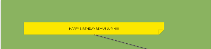 HAPPY BIRTHDAY REMUS LUPIN- WIP by Mairelyn