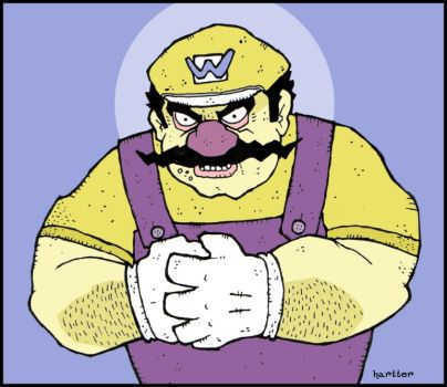 Wario by Hartter