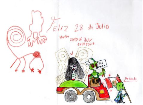 Happy 28th of july by TIPOVERDE
