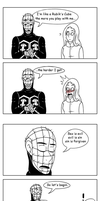 Pinhead x Carrie by Bakhtak