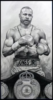 Roy Jones Jr by jevankelley