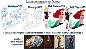 Commissions Info by LPDisney