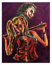 Harley and Mr J by nthomas-illustration