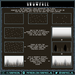 Seamless Snow Tutorial by SadfaceRL