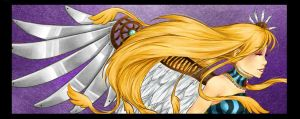 :Birthday: The Winged One by Eily
