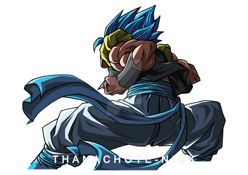 G VS B : Gogeta SSGSS - DBS [COLOR] by Thanachote-Nick
