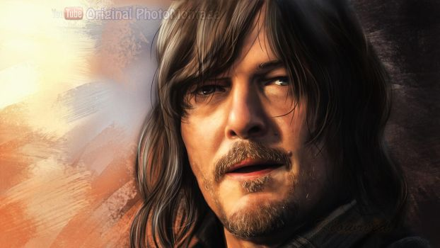 Norman Reedus Digital drawing by Klowreed