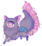 [CLOSED] Halloween Candy Petalpuff by CloverWing