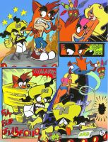 crash bandicoot comic 2-5 by rods3000