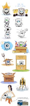 Portal 2 tumblr dump by midwaymilly