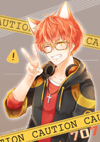 Mystic Messenger: 707 by Toxicmilkk