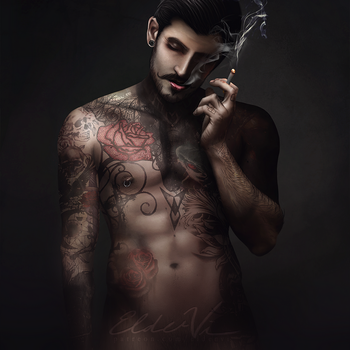 The smoke after... - NSFW by Eldervi
