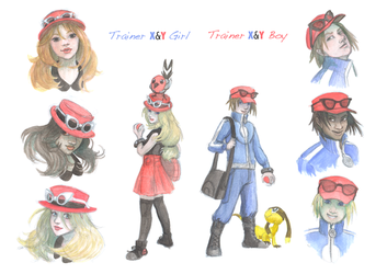 X and Y Trainers by Truthdel