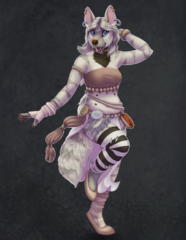 [Commission] Dancing! by Scaleeth