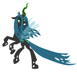 Vector Queen Chrysalis by Kyss.S by KyssS90