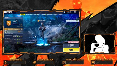 Fortnite Omega - Lobby Overlay by lol0verlay