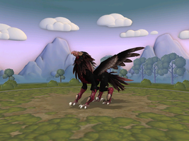 Spore: Gryphon by Hashakgig1106