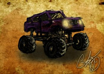 monster truck 30 mins by wallmasterr