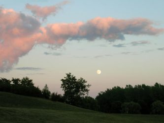 Moonrise on the Island by vaia