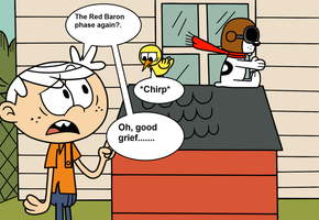 Charles and The Red Baron by eagc7