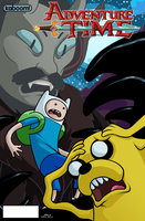 Adventure time cover by dwaynebiddixart