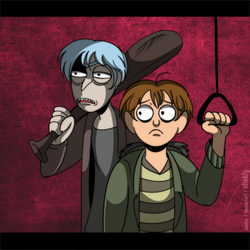 Rick and Morty as Killing Stalking parody by Shokly