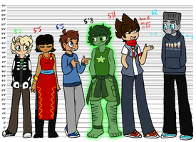 Ninjago Chart [VERY MUCH SO HEADCANONS] by Ninjago-Trashcan