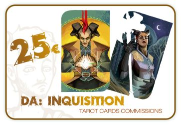 DA:I Tarot Cards Commissions available by PictorIocus