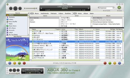 XBOX 360 for iTunes 6 by deelo