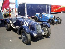 Talbot and Bugatti 1920s 1930s by Partywave