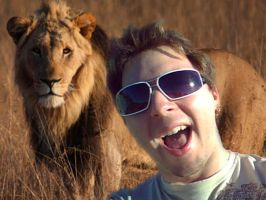Chris in Africa by Tw1stedMetalPirate