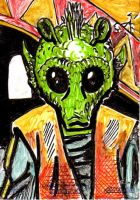 Greedo Sketch Card no1 by Barnlord