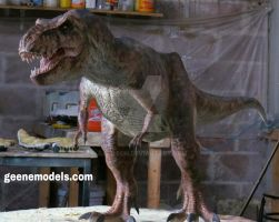 T Rex 1/8 scale 5 feet in length. by GalileoN