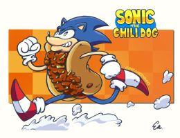 Sonic the ChiliDog by TheInsaneDingo