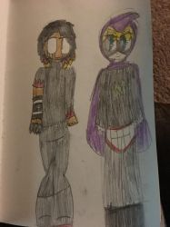 At With Ravennn01! Sharn/Mysterion by SacredSquishy