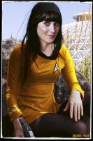 Zooey Deschanel  #2 Celebrity Star Trek by gazomg