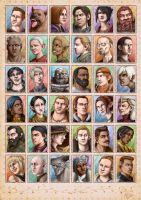 DA Characters by Atarial