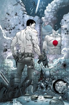 Bloodshot cover by PETECOLORS